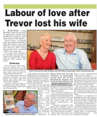 Labour of love after Trevor lost his wife